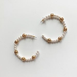 Baublebar Hoop Earrings, New